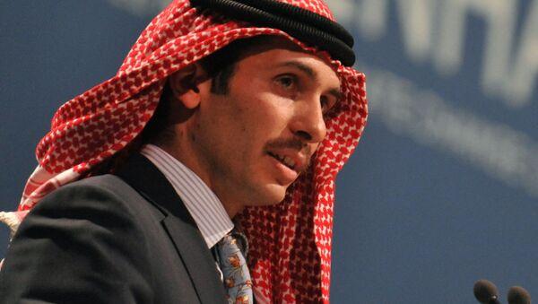 Przyrodni brat króla Jordanii, Hamza ibn al-Hussein - Sputnik Polska