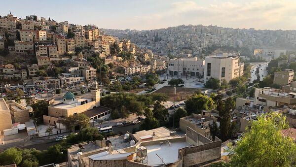Widok na stolicę Jordanii, Amman - Sputnik Polska