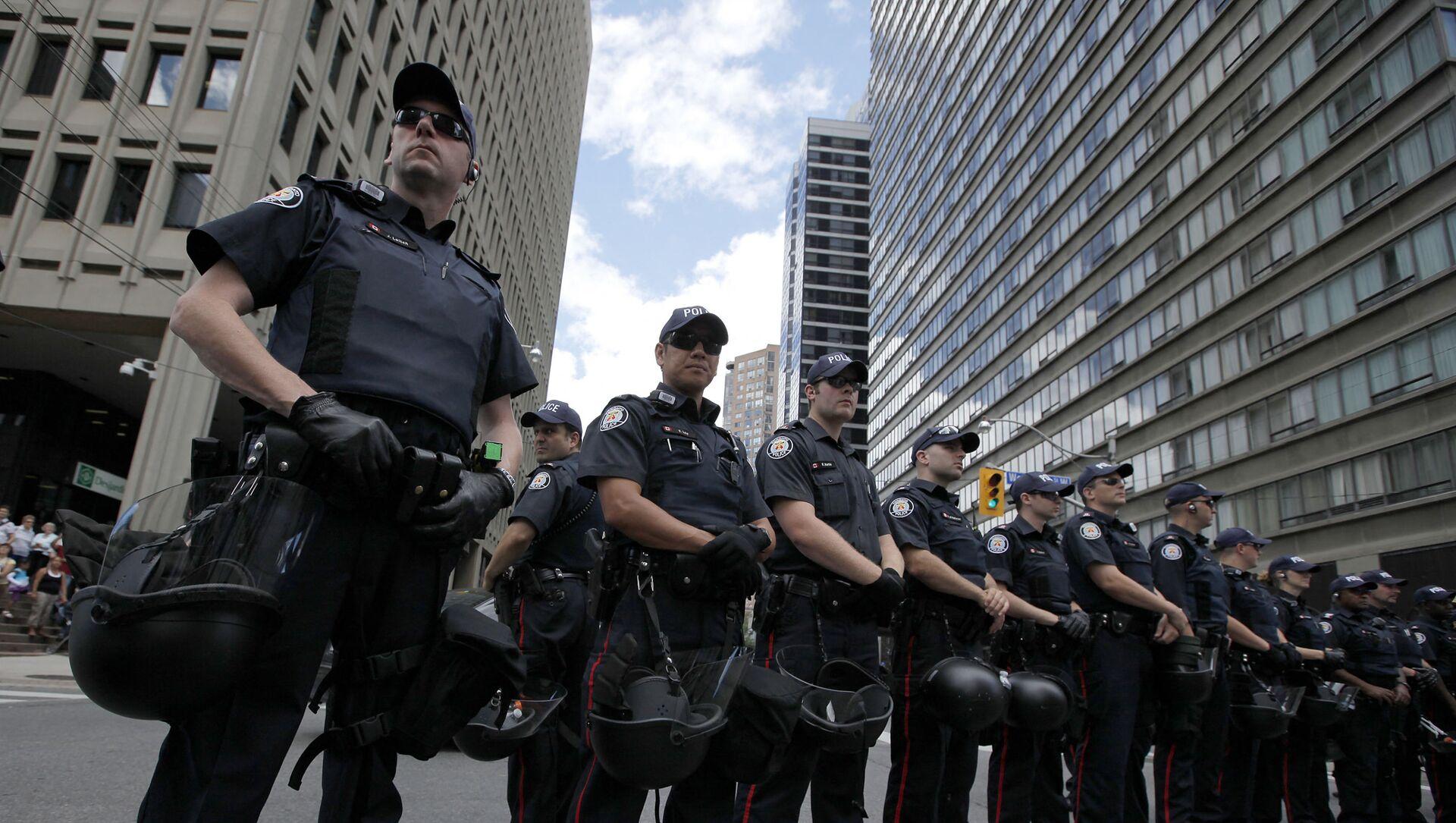 Kanadyjska policja - Sputnik Polska, 1920, 05.04.2021
