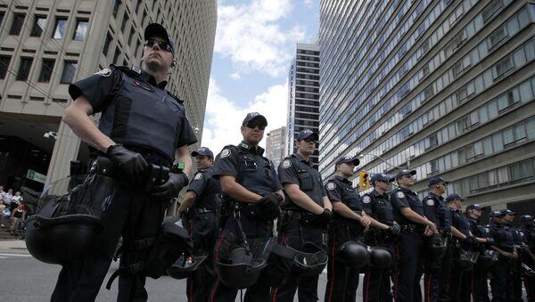Kanadyjska policja - Sputnik Polska
