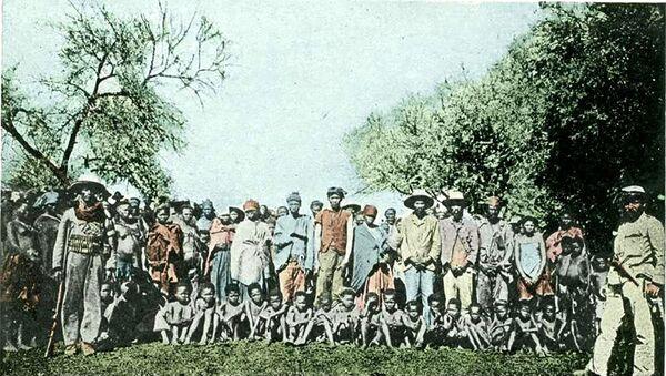 Plemię Herero, ok 1900 roku - Sputnik Polska