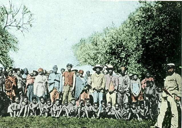 Plemię Herero, ok 1900 roku