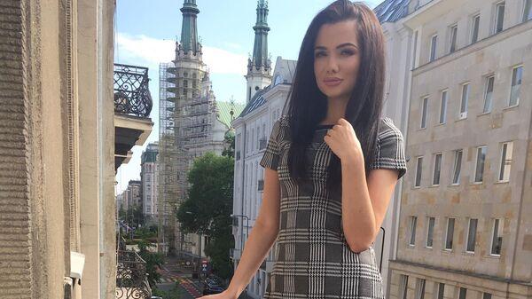Działaczka Lewicy Justyna Klimasara - Sputnik Polska