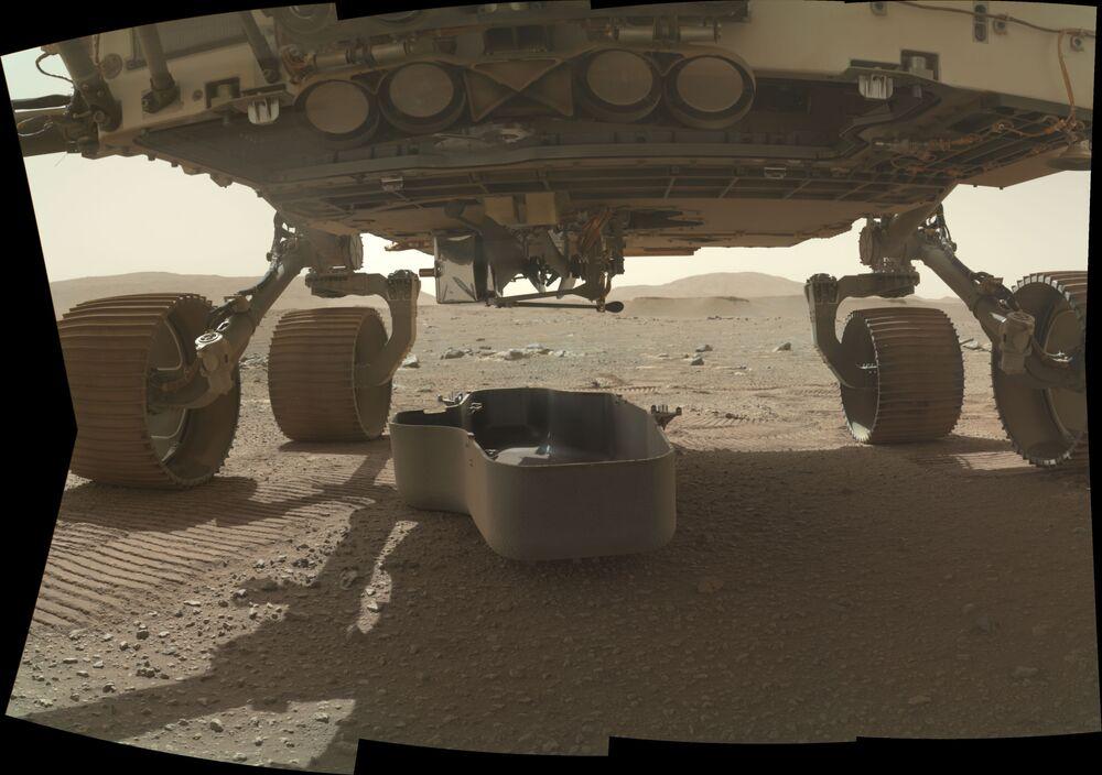 Łazik Perseverance na Marsie