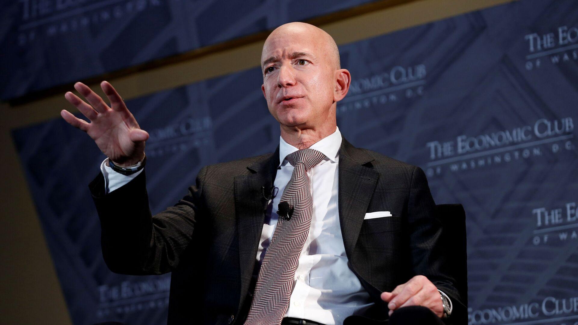 Założyciel Amazona Jeff Bezos - Sputnik Polska, 1920, 20.07.2021