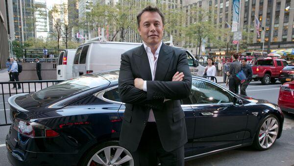 Twórca PayPala, Tesli i SpaceX Elon Musk - Sputnik Polska