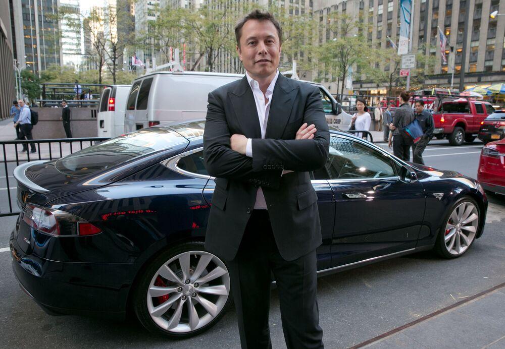 Twórca PayPala, Tesli i SpaceX Elon Musk