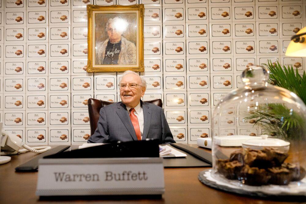 Miliarder z USA Warren Buffett