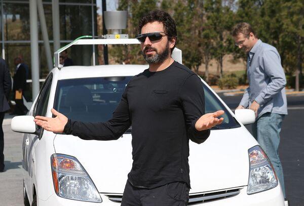 Współtwórca Google Sergey Brin - Sputnik Polska