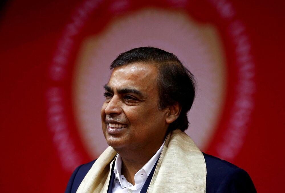 Indyski przedsiębiorca Mukesh Ambani