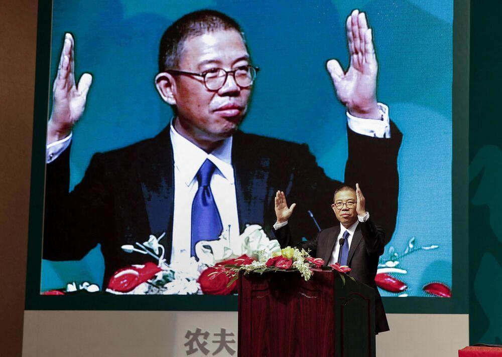 Chiński przedsiębiorca Zhong Shanshan