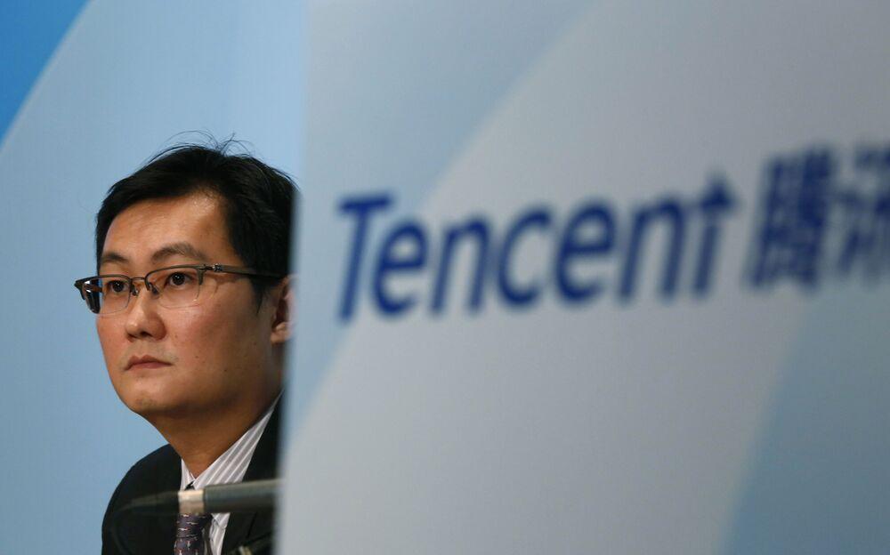 Założyciel i CEO korporacji Tencent Ma Huateng