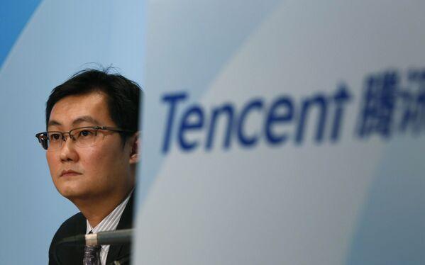 Założyciel i CEO korporacji Tencent Ma Huateng - Sputnik Polska