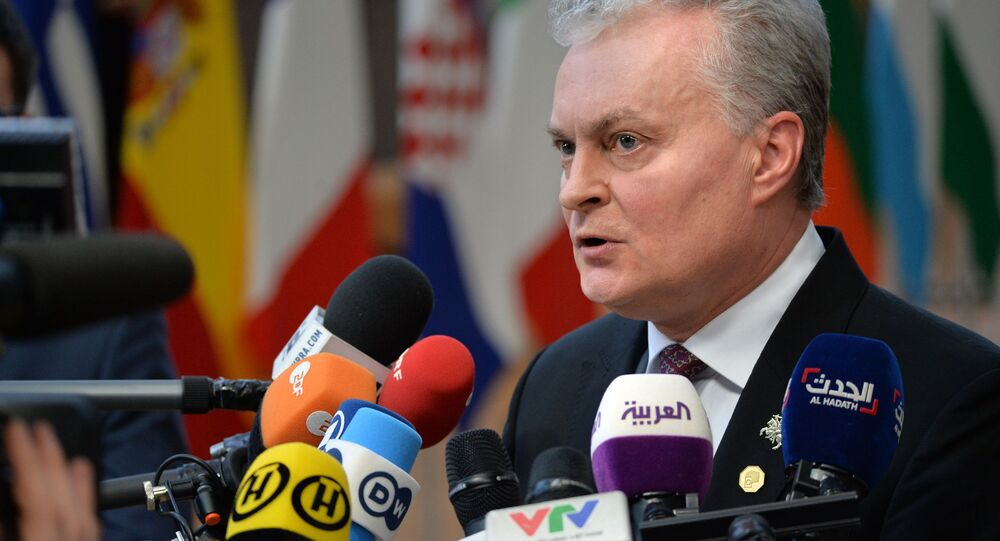 Prezydent Litwy Gitanas Nauseda