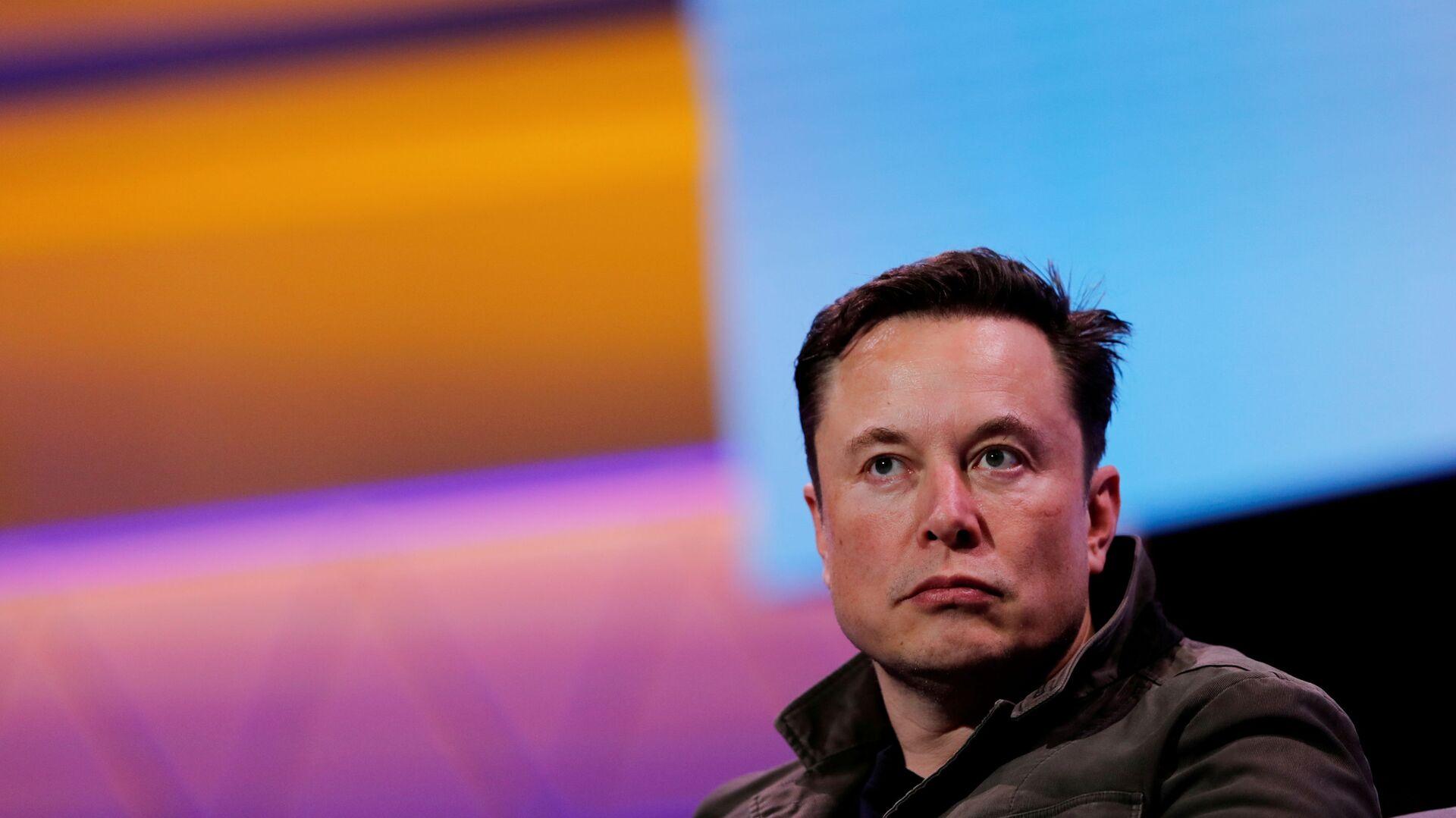 Założyciel Tesli i SpaceX Elon Musk - Sputnik Polska, 1920, 04.08.2021