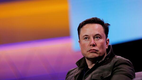 Założyciel Tesli i SpaceX Elon Musk - Sputnik Polska