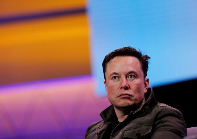 Założyciel Tesli i SpaceX Elon Musk