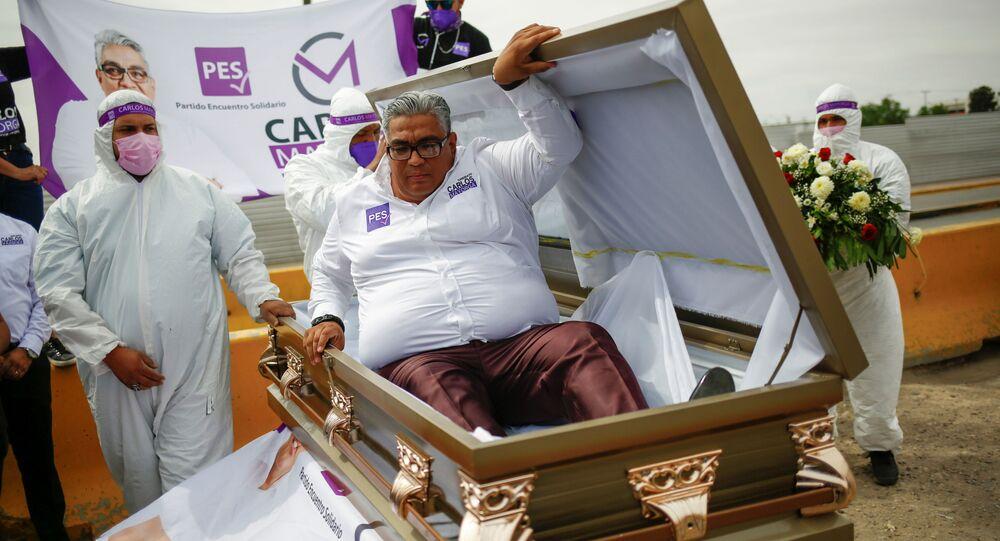 Meksykański kandydat Carlos Mayorga