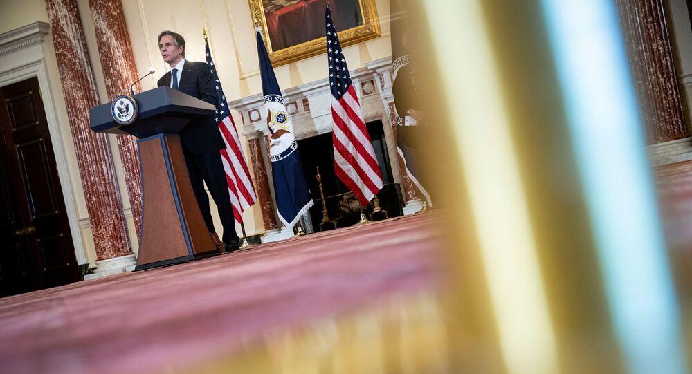Sekretarz stanu USA Anthony Blinken
