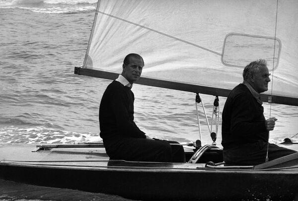 Książę Filip w 1963 roku - Sputnik Polska
