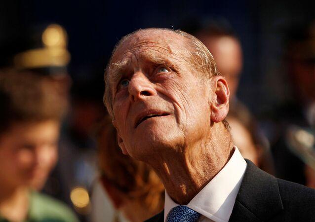 Książę Filip w 2010 roku