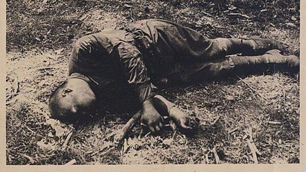 Zdjęcie archiwalne z czasów II wojny światowej. - Sputnik Polska