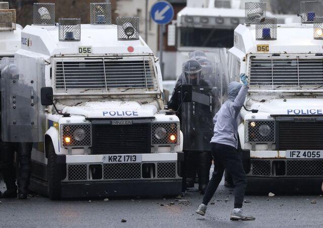 Zamieszki w Belfaście.
