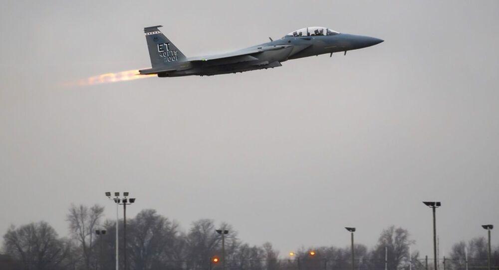 F-15EX Advanced Eagle.