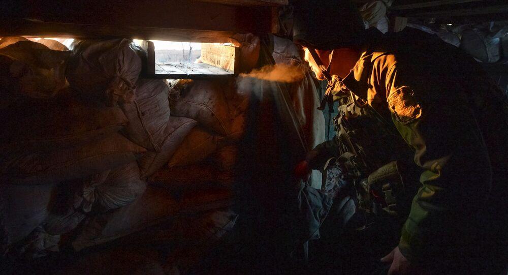 Konflikt w Donbasie.