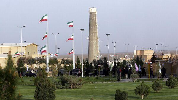 Widok na obiekty jądrowe w Natanz w Iranie - Sputnik Polska