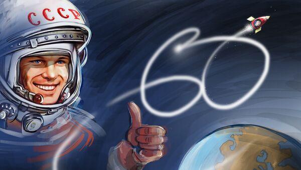 60 lat od pierwszego lotu człowieka w kosmos - Sputnik Polska