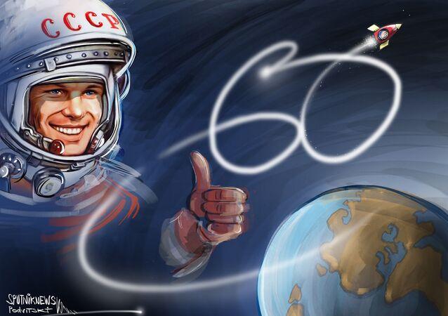 60 lat od pierwszego lotu człowieka w kosmos