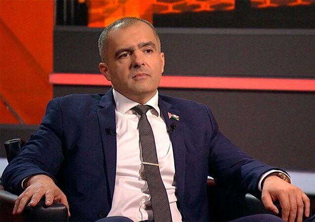 Oleg Gajdukiewicz, poseł Izby Przedstawicieli, wiceprzewodniczący komisji spraw zagranicznych, przewodniczący Partii Liberalno-Demokratycznej.