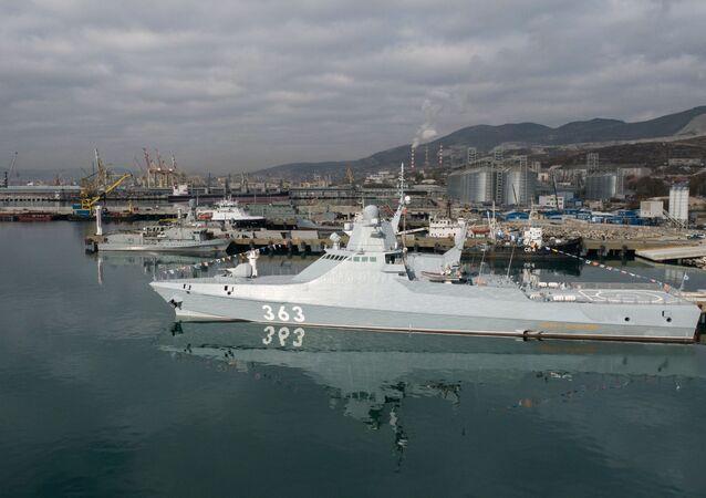 Rosyjski okręt patrolowy