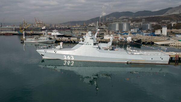 Rosyjski okręt patrolowy - Sputnik Polska