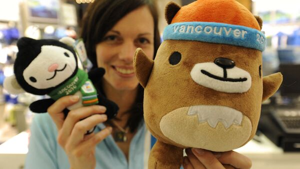 Maskotki Igrzysk Olimpijskich 2010 w Vancouver Miga i Mukmuk - Sputnik Polska