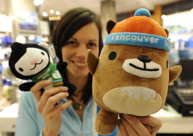 Maskotki Igrzysk Olimpijskich 2010 w Vancouver Miga i Mukmuk