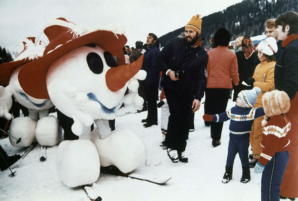 Maskotka Igrzysk Olimpijskich 1976 w Austrii