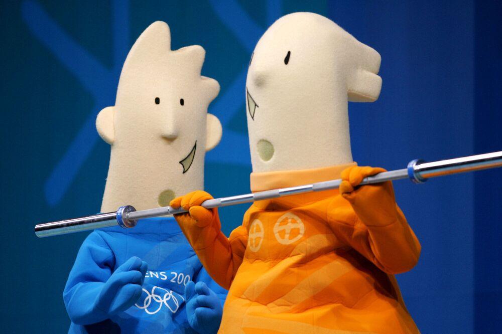 Maskotki Igrzysk Olimpijskich 2004 w Atenach