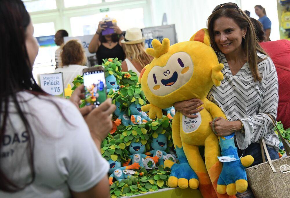 Maskotka Igrzysk Olimpijskich 2016 w Rio de Janeiro