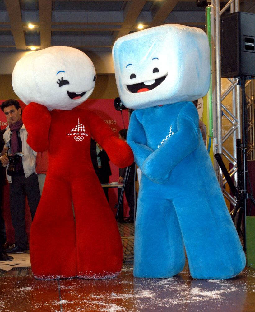 Maskotki Igrzysk Olimpijskich 2006 we Włoszech