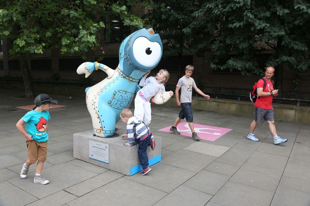 Maskotka Igrzysk Olimpijskich 2012 w Londynie