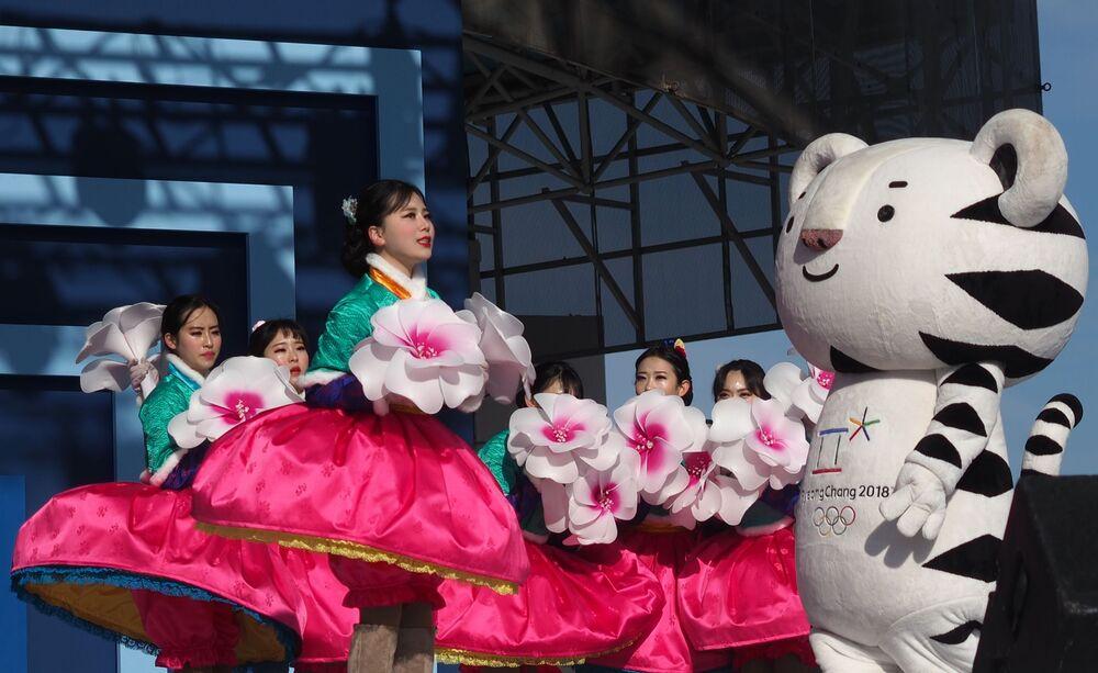 Maskotka Igrzysk Olimpijskich 2018 w Korei Południowej
