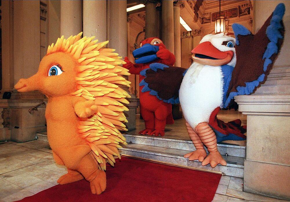 Maskotki Igrzysk Olimpijskich 2000 w Sydney