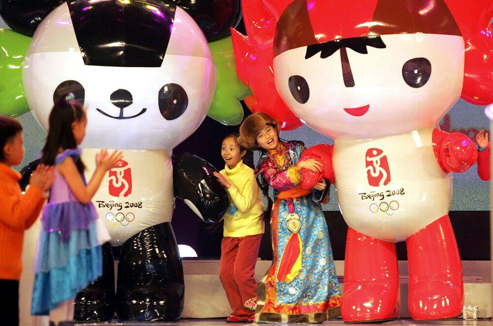 Maskotki Igrzysk Olimpijskich 2008 w Pekinie