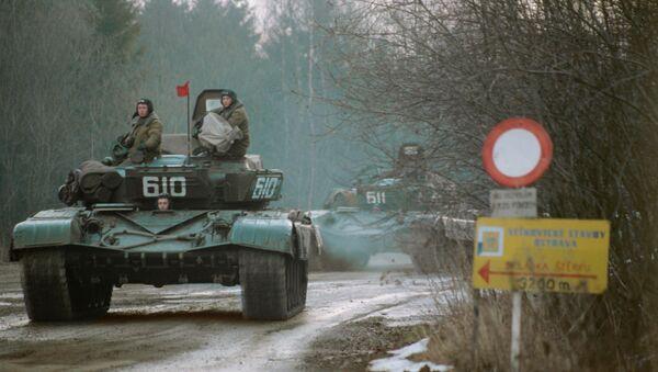 Radzieckie wojska opuszczają Czechosłowację - Sputnik Polska
