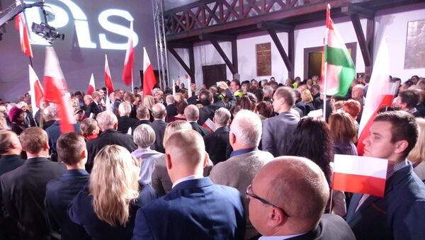 Zjazd partii PiS - Sputnik Polska