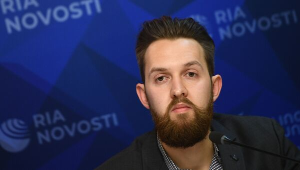 Andriej Starikow, redaktor naczelny serwisu Baltnews - Sputnik Polska
