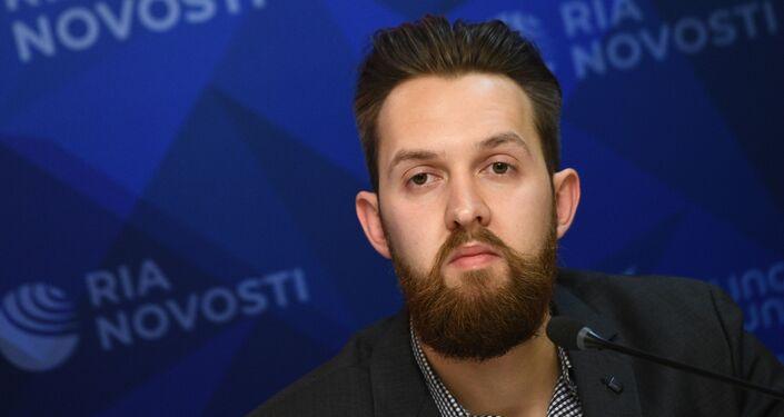 Andriej Starikow, redaktor naczelny serwisu Baltnews