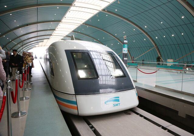 Maglev - pociąg do lewitacji magnetycznej